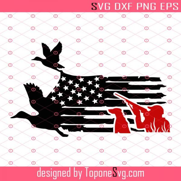 Download Creative Us Flag Duck Hunting Svg Hunting Season Svg Hunting Svg Hunting Dad Svg Eps Dxf Png Cricut Silhouette Toponesvg